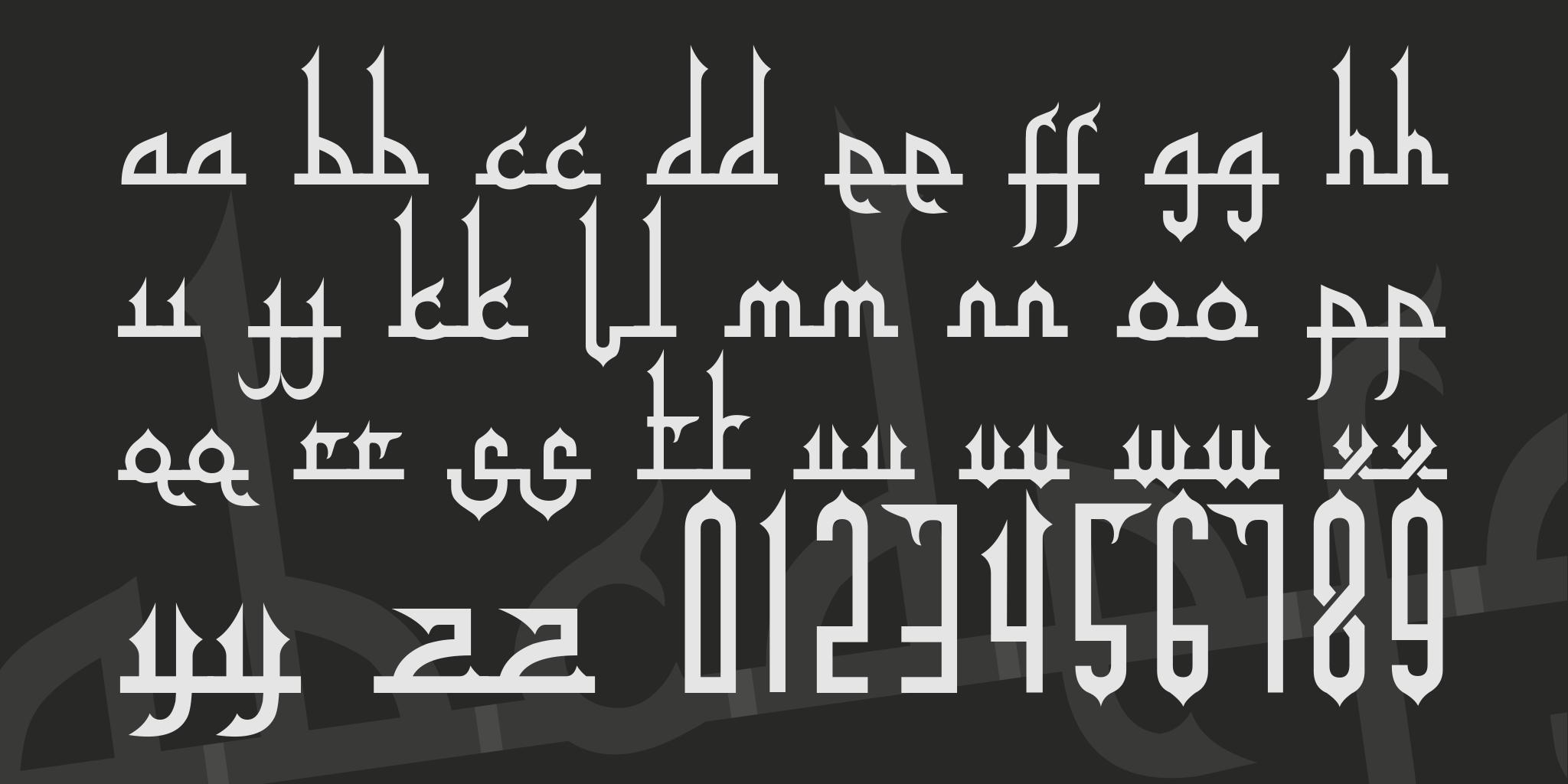 Tafakur Font Free Download Similar Fonts Fontget